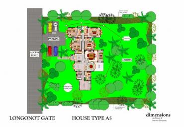 SITE PLAN-HOUSE TYPE A5