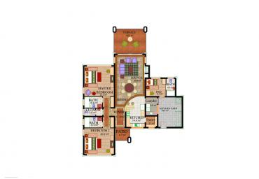House Type A2 - Floor Plan