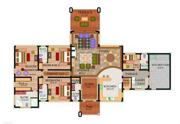 House Type A4 - Floor Plan