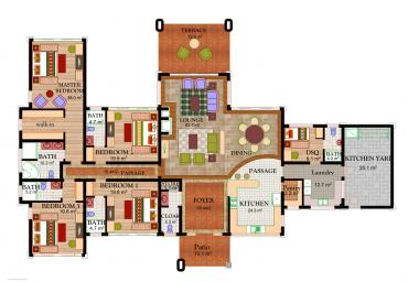 House Type A5 - Floor Plan