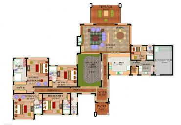 House Type B3 - Floor Plan