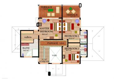 House Type C3 - First Floor Plan