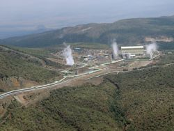 Olkaria geothermal station